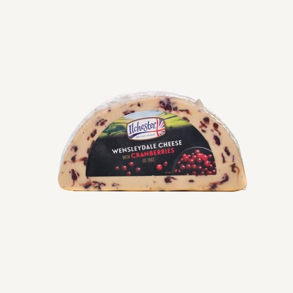 Сыр Ilchester  Wensleydale Cheese With Cranberries c клюквой